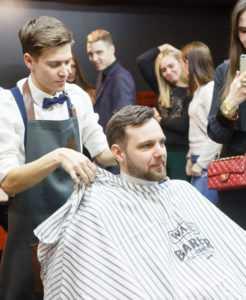 мужская парикмахерская барбершоп цирюльня