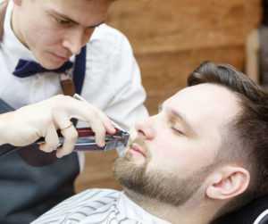 мужская парикмахерская цирюльня барбершоп